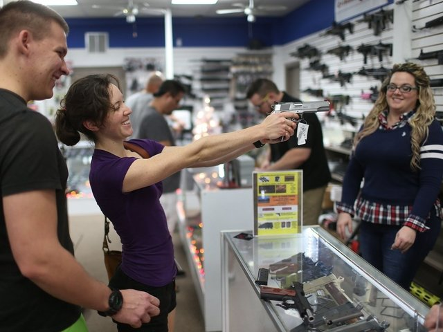 What Was One Of The Hot Black Friday Buys This Year? Guns