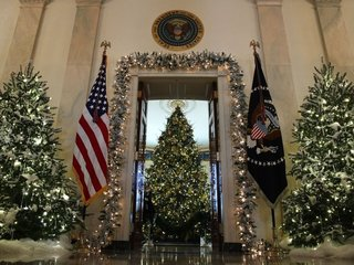 Why Christmas decor at White House is legal