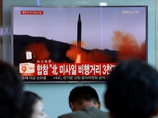 North Korea just fired a new ballistic missile