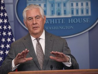 Tillerson not worried about job security