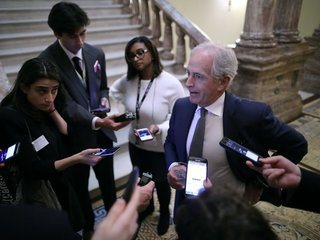 Sen. Bob Corker was lone GOP holdout on tax bill