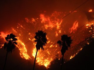 Southern California fire still growing