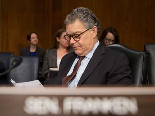 Franken again accused of sexual misconduct