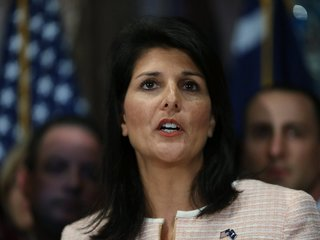 Haley suggests US may sit out 2018 Olympics