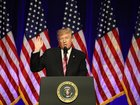 Trump speaks at opening of civil rights museum