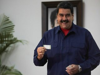 Maduro bans opposition from future elections