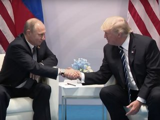 Putin calls Trump to say 'thank you'