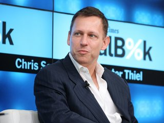 Report: Thiel's VC company owns lots of bitcoin