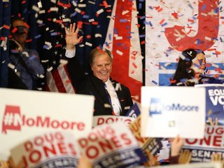 How Doug Jones is breaking the Senate status quo