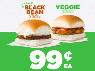 White Castle bringing back black bean burger