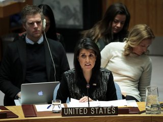 US chastised for UN meeting on Iranian unrest