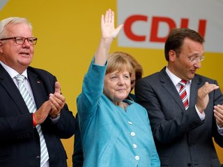 Germany coalition talks back on