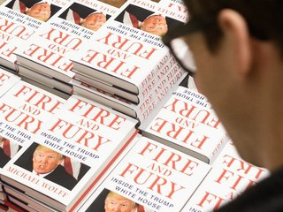 'Fire and Fury' is flying off the shelves