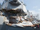 Navy charges 2 commanders in ship crashes