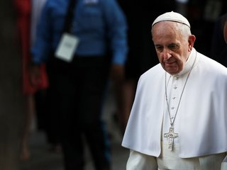 Pope accuses sex abuse victims of slander