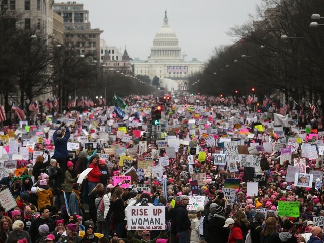 United States cities gear up for anti-Trump Women's March 2.0