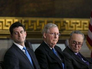 Senators go against party line in shutdown vote
