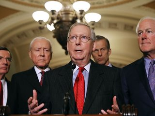 Senate passes temporary spending bill