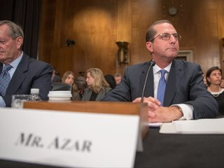 Azar has been sworn in as the new HHS secretary