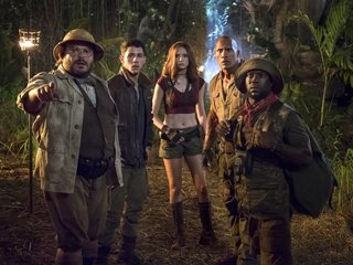 'Jumanji' finds its way back to No. 1