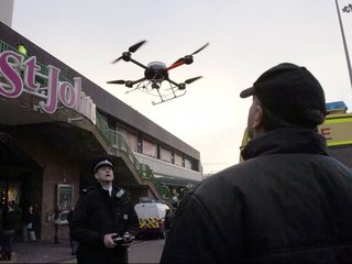 Drones quickly becoming parts of police forces
