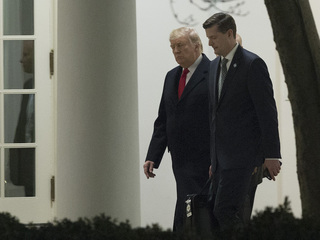 Trump on Rob Porter: 'We wish him well'