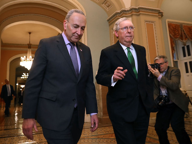 United States  senators agree to a bipartisan spending spree