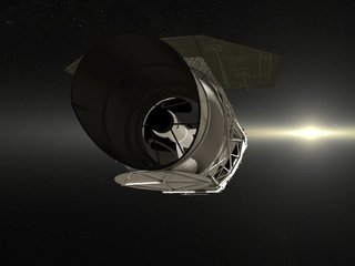 NASA's new telescope used to be classified