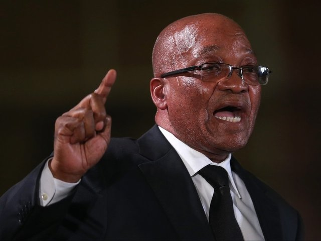 South African President Jacob Zuma steps down