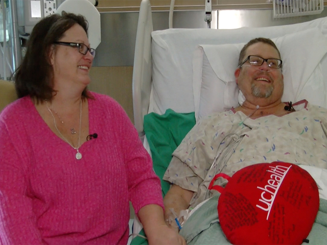 Father celebrates new heart on Valentine-s Day