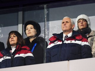 Mike Pence ignored Kim Jong-un's sister