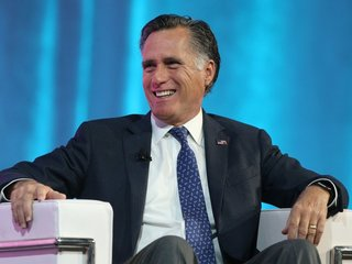 Why is Romney running for US Senate in Utah?