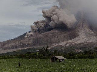 Now 3 volcanoes erupting in Indonesia
