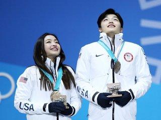 Shibutani siblings win bronze for ice dancing