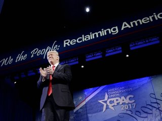 Trump's first CPAC speech set tone for campaign