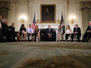 Trump hosts listening session on school safety