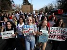 Students across US demand gun law reform