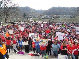 West Virginia teacher strike to continue Tuesday