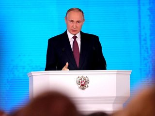 Putin touts Russia's nuclear weapons