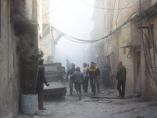 Violence escalates in Eastern Ghouta