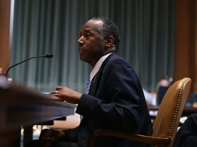 Carson: There are more complexities running HUD than in brain surgery