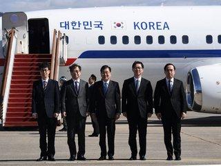 Kim Jong-Un Hosts A Dinner With South Korean...