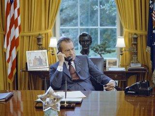 What was Nixon's Saturday Night Massacre?
