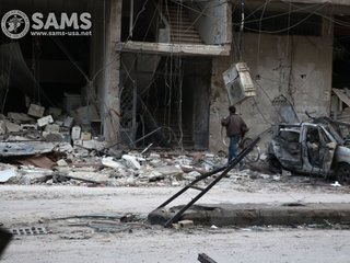 Report: Syrian army gaining ground in Ghouta