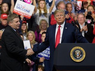 Trump delivers stump speech in Pennsylvania