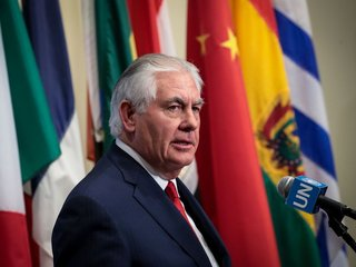 Tillerson gives speech after his ouster