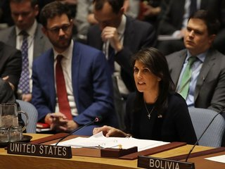 Haley: US believes Russia used nerve agent in UK