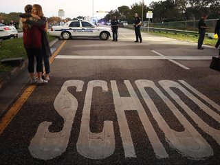 Officials release video from Fla school shooting
