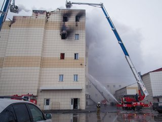 At least 64 dead after fire at Siberian mall