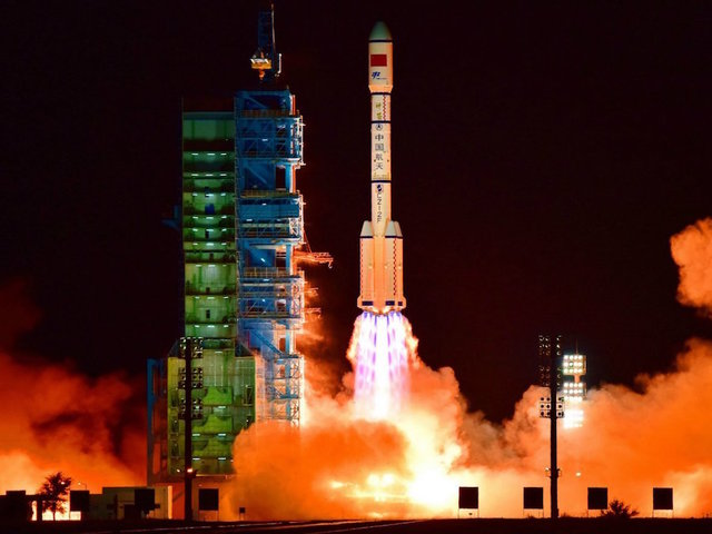 Chinese space station mostly burned up upon re-entering Earth's atmosphere